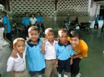 Great kids who were Burmese, Karen, Chin and other minority groups.. :)